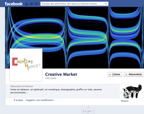 facebook creative market