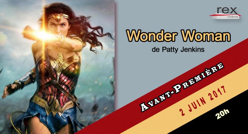 Avant-première Wonder woman