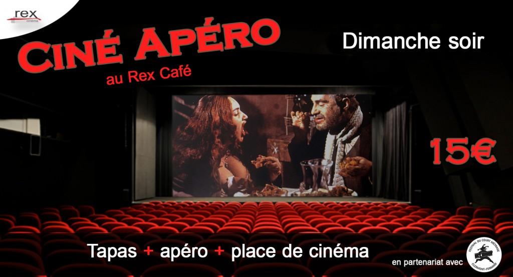 CARTON Ciné Apero dimanche soir