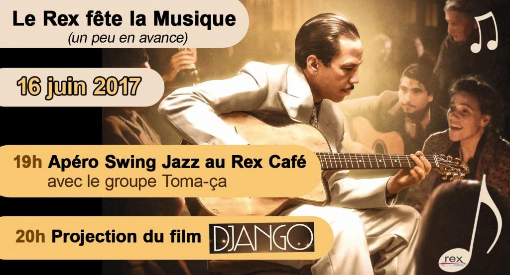 Soirée concert Django